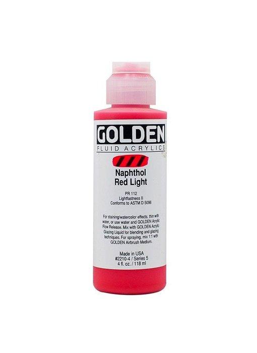 GOLDEN 4OZ FLUID NAPTHOL RED LIGHT SERIES 5