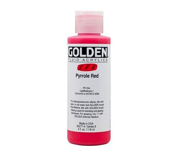 GOLDEN 4OZ FLUID PYRROLE RED SERIES 8