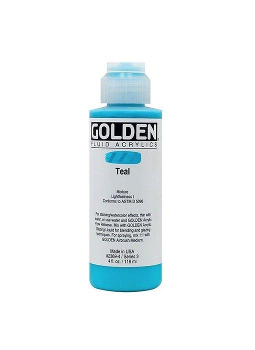 GOLDEN 4OZ FLUID TEAL SERIES 3