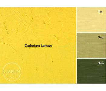 GAMBLIN GAMBLIN ARTIST'S OIL COLORS 37ML CADMIUM LEMON