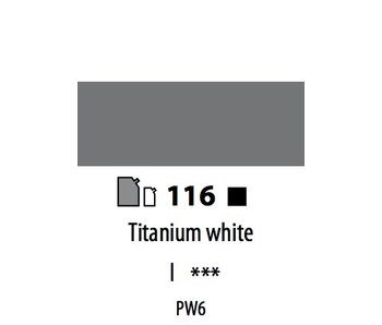 ABSTRACT ACRYLIC 120ML BAG TITANIUM WHITE