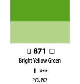 ART ABSTRACT BRIGHT YELLOW GREEN 120ML
