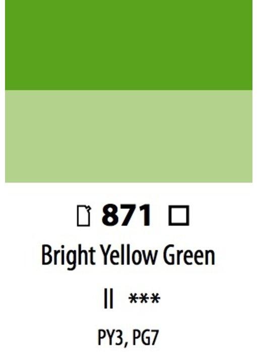 ABSTRACT ACRYLIC 120ML BAG BRIGHT YELLOW GREEN
