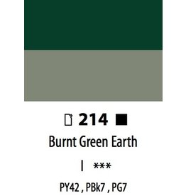 ART ABSTRACT BURNT GREEN EARTH 120ML