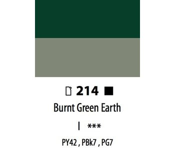 ABSTRACT ACRYLIC 120ML BAG BURNT GREEN EARTH