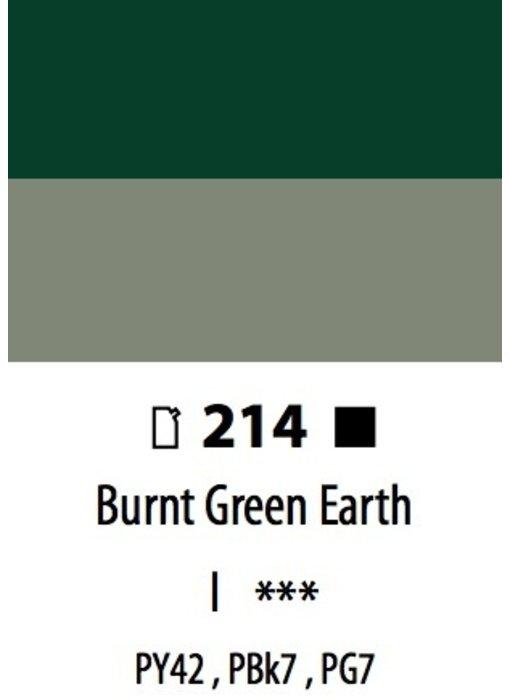 ABSTRACT ACRYLIC 120ML BAG BURNT GREEN EARTH