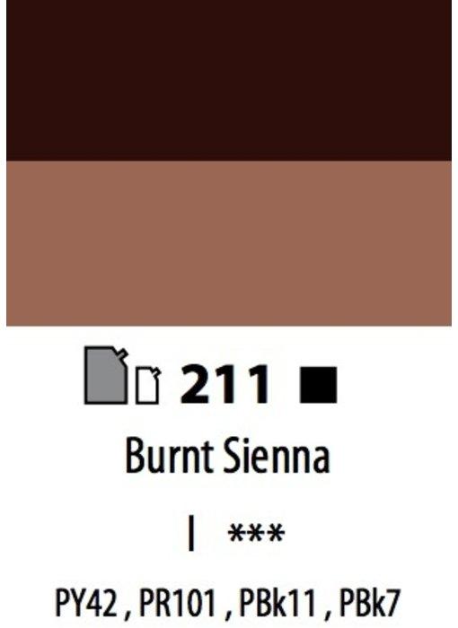 ABSTRACT ACRYLIC 120ML BAG BURNT SIENNA