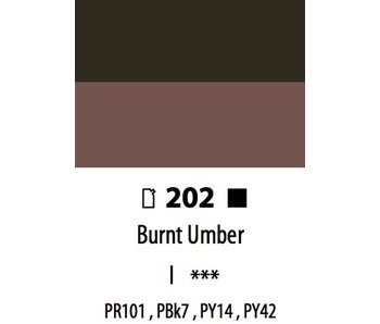 ABSTRACT ACRYLIC 120ML BAG BURNT UMBER