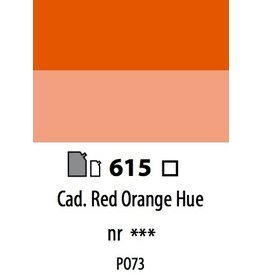 ART ABSTRACT CADMIUM RED ORANGE HUE 120ML