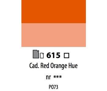 ABSTRACT ACRYLIC 120ML BAG CADMIUM RED ORANGE HUE