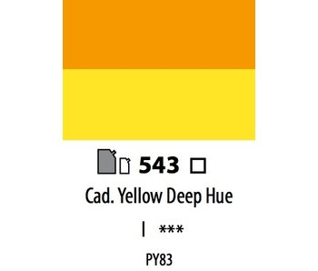 ABSTRACT ACRYLIC 120ML BAG CADMIUM YELLOW DEEP HUE