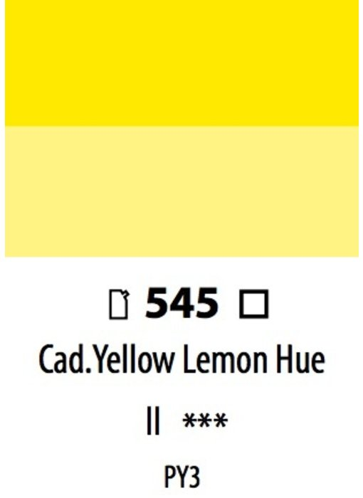 ABSTRACT ACRYLIC 120ML BAG CADMIUM YELLOW LEMON HUE