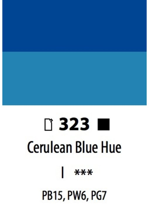 ABSTRACT ACRYLIC 120ML BAG CERULEAN BLUE HUE