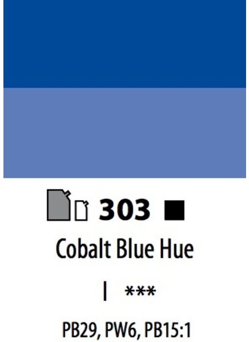 ABSTRACT ACRYLIC 120ML BAG COBALT BLUE HUE