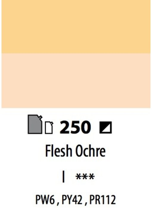 ABSTRACT ACRYLIC 120ML BAG FLESH OCHRE