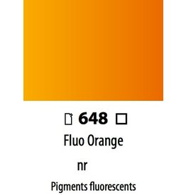 ART ABSTRACT FLUO. ORANGE 120ML