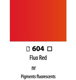 ART ABSTRACT FLUO. RED 120ML