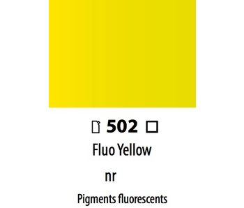 ABSTRACT ACRYLIC 120ML BAG FLUORESCENT YELLOW