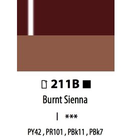 ART ABSTRACT HG BURNT SIENNA 120ML