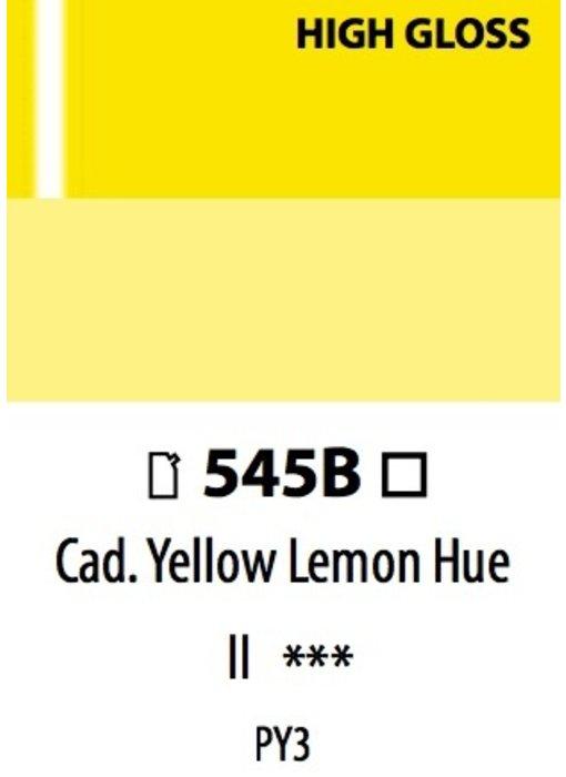 ABSTRACT ACRYLIC 120ML BAG HIGH GLOSS CADMIUM YELLOW LEMON HUE