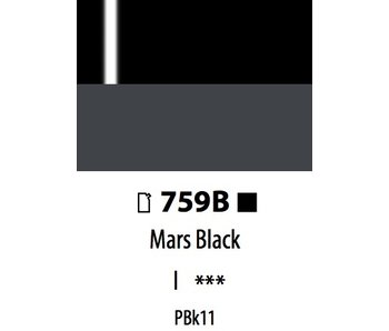 ABSTRACT ACRYLIC 120ML BAG HIGH GLOSS MARS BLACK