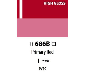 ABSTRACT ACRYLIC 120ML BAG HIGH GLOSS PRIMARY RED