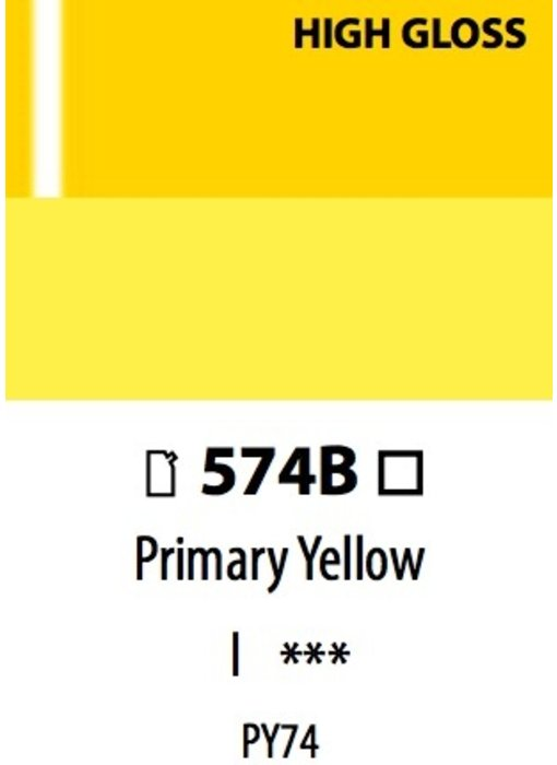 ABSTRACT HG PRIMARY YELLOW 120ML