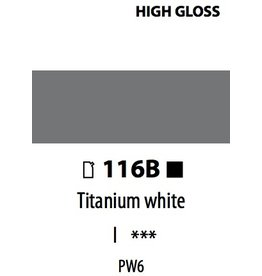ART ABSTRACT HG TITANIUM WHITE 120ML