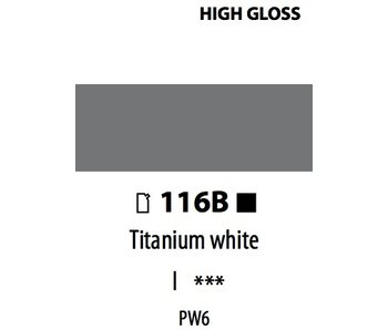 ABSTRACT ACRYLIC 120ML BAG HIGH GLOSS TITANIUM WHITE
