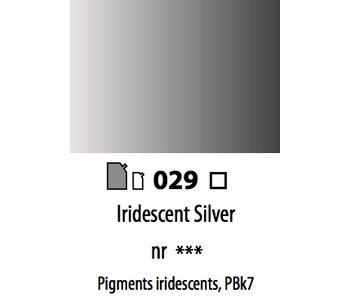ABSTRACT ACRYLIC 120ML BAG IRIDESCENT SILVER