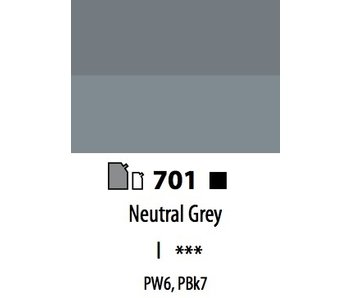 ABSTRACT ACRYLIC 120ML BAG NEUTRAL GREY