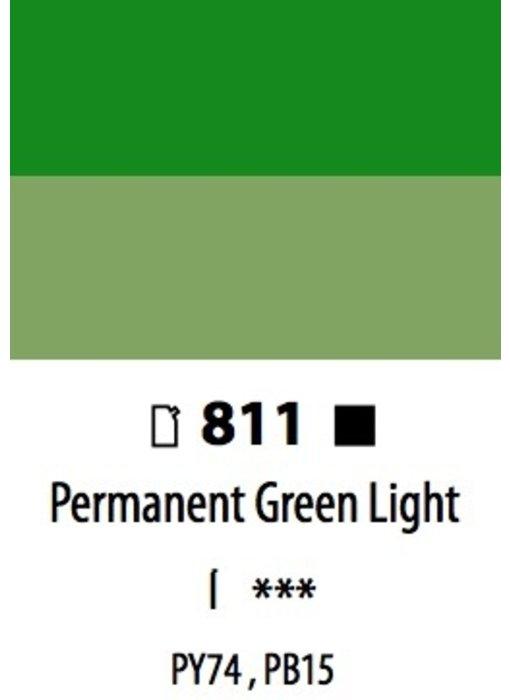 ABSTRACT ACRYLIC 120ML BAG PERMANENT GREEN LIGHT