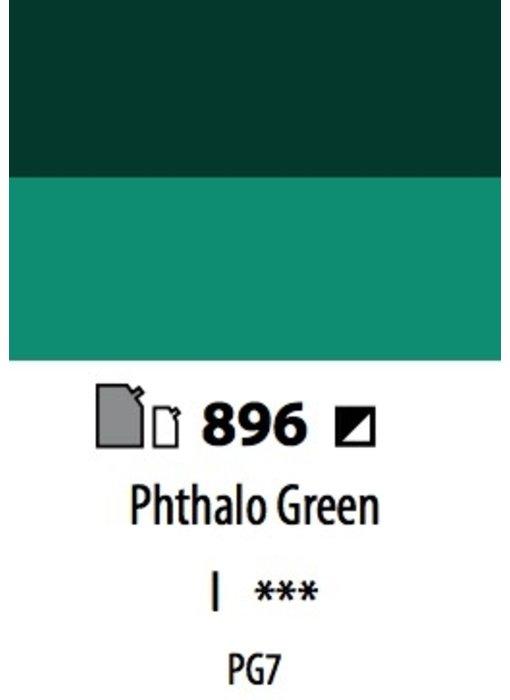 ABSTRACT ACRYLIC 120ML BAG PHTHALO GREEN