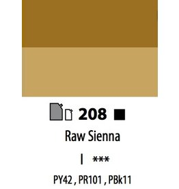 ART ABSTRACT RAW SIENNA 120ML