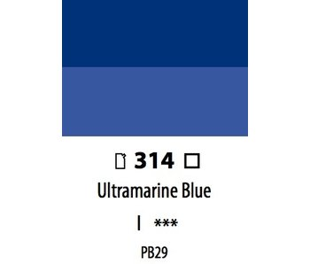 ABSTRACT ACRYLIC 120ML BAG ULTRAMARINE BLUE
