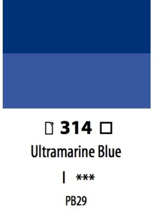 ABSTRACT ACRYLIC 120ML BAG ULTRAMARINE BLUE