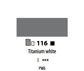 ABSTRACT ACRYLIC 500ML BAG TITANIUM WHITE