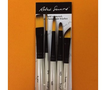 SIMPLY SIMMONS PURE SPRING WATERCOLOUR BRUSH SET
