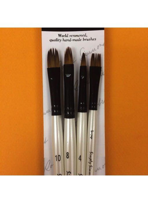 SIMPLY SIMMONS FUR & FEATHERS BRUSH SET