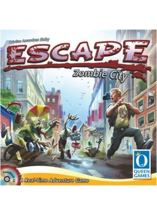 Escape Zombie City Board Game