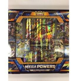 THINKPLAY Pokemon Trading Card Game Mega Powers Collection Set