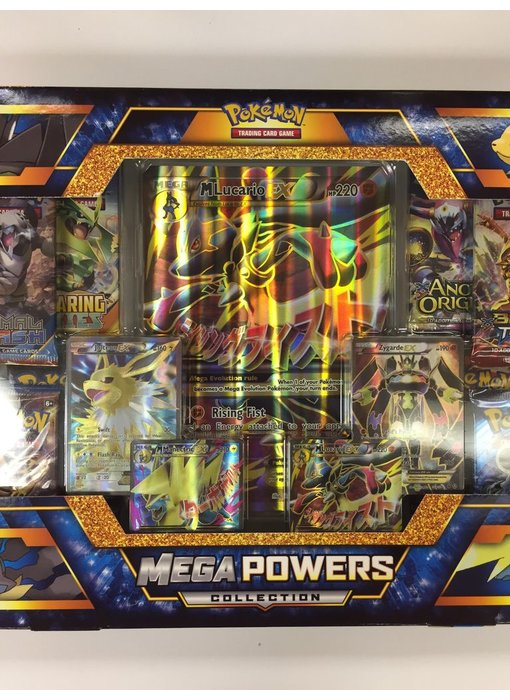 Pokemon Trading Card Game Mega Powers Collection Set