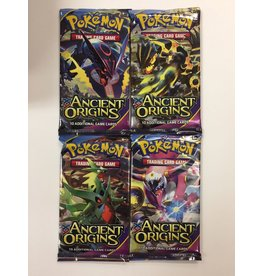 THINKPLAY POKEMON TRADING CARD GAME SUN & MOON BOOSTER PACK ANCIENT ORIGINS