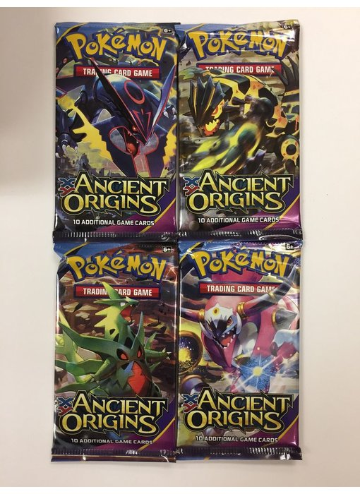 POKEMON TRADING CARD GAME SUN & MOON BOOSTER PACK ANCIENT ORIGINS
