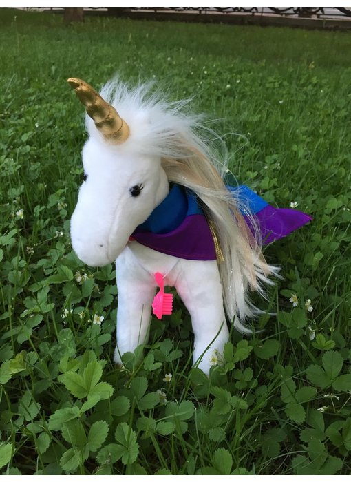 PRIDE DOUGLAS CUDDLE TOY PLUSH GOLDEN PRINCESS UNICORN