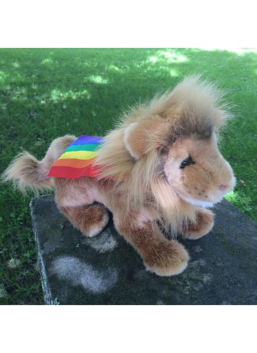 PRIDE DOUGLAS CUDDLE TOY PLUSH RAJA LION, SMALL CAT