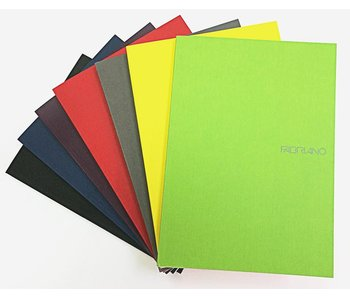 FABRIANO FABRIANO ECOQUA DOT GRID PAD GL 6x8 A5 LIME GREEN