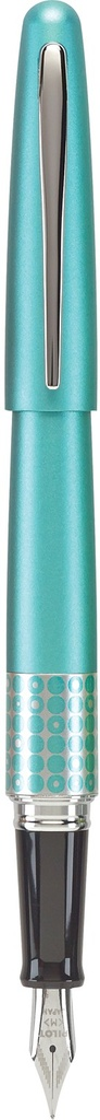 ART PILOT RETRO POP FOUNTAIN PEN MEDIUM TURQUOISE