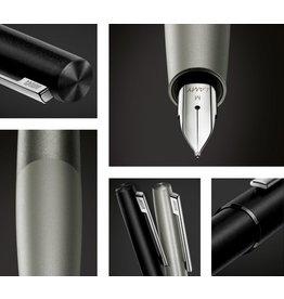 ART Lamy Fountain Pen Aion Olivesilver Steel Metal M