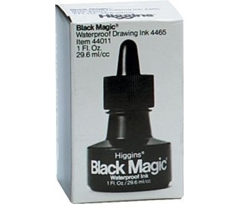 HIGGINS BLACK MAGIC INK 1OZ